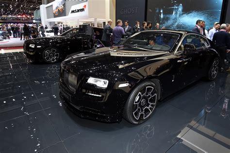 roll royce ghost all black rolls royce cars news black badge models targeting