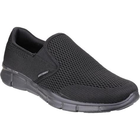 Importir Skechers Equalizer Sale lyst skechers sk51509 equalizer play s slip ons shoes in black in black for