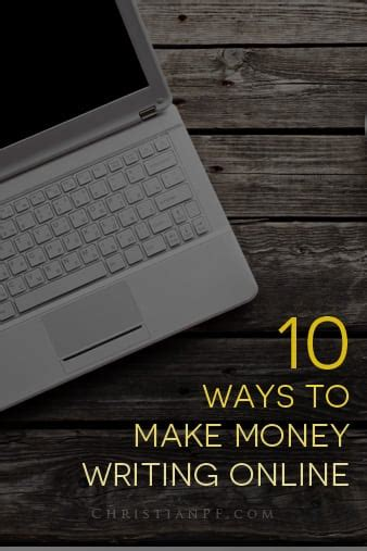 10 Ways To Make Money While Out Of Work by 10 Ways To Make Money Writing Articles