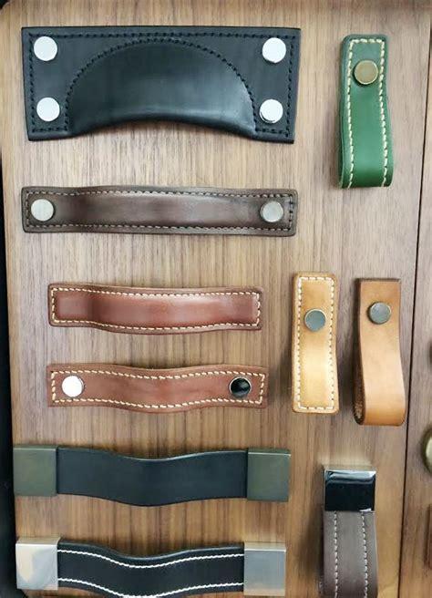 Unique Kitchen Cabinet Knobs leather cabinet hardware handles knobs amp pulls
