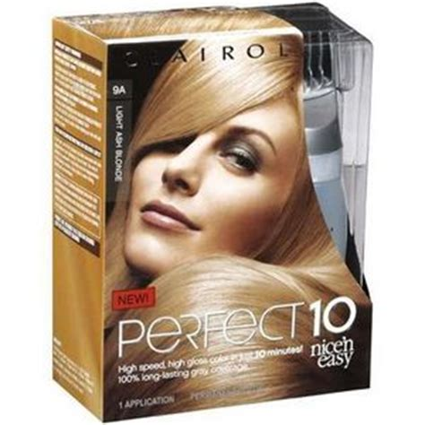 Perfect 10 Hair Color Chart | clairol nice n easy perfect 10 hair color reviews