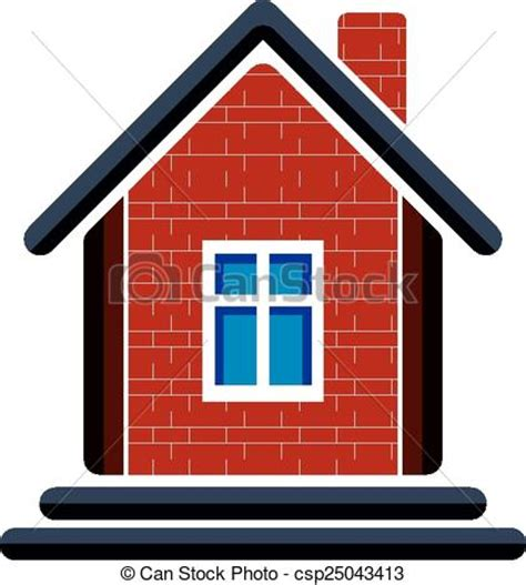 country house insurance country house constructed with red bricks real estate vector clip art search