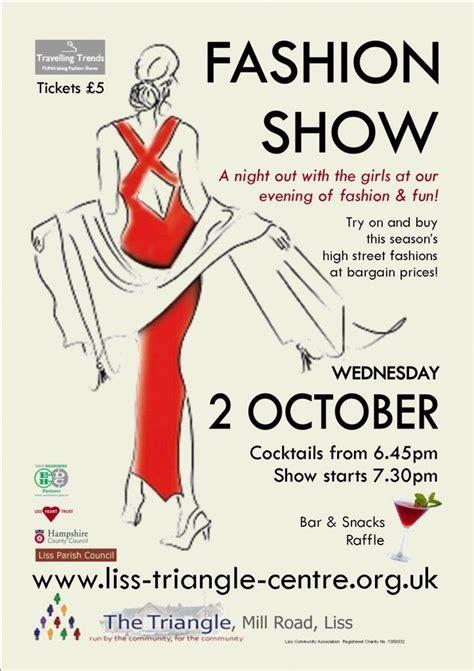 Fashion Show 2013 Poster Fashion Show Programs Pinterest Fashion Show Schedule Template