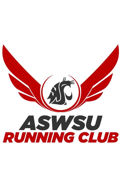 design a running logo aswsu running club logo inspired by the usa track field