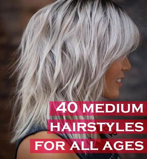 hairstyles for all ages 40 trendy medium hairstyles for women of all ages