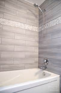 remodelaholic diy bathroom remodel on a budget and best 25 shower tile designs ideas on pinterest shower