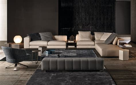 canap 233 freeman seating system by minotti design rodolfo