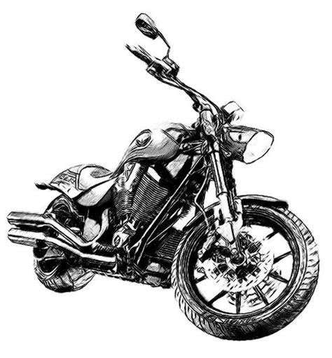 Victory Hammer Motorcycle Drawing Custom Drawings From