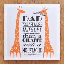 Awesome dad birthday card by clothkat notonthehighstreet com