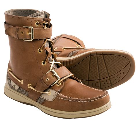 boots womens sperry top sider huntley boots for 7349j