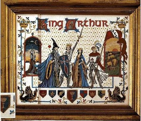 i cavalieri della tavola rotonda cartone animato schema punto croce re 249 e la tavola rotonda paperblog
