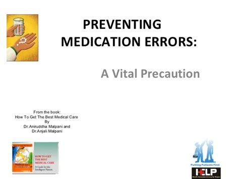 prevent medication errors preventing medication errors