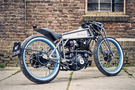 Honda Motorrad Greifswald by Scharfer Yamaha Xt550 Boardtracker Aus Caferacer