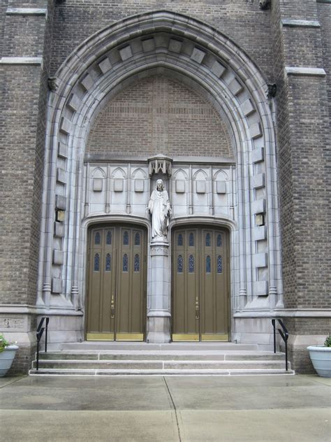 Exterior Doors Columbus Ohio File Sacred Church Columbus Ohio Front Doors Jpg Wikimedia Commons