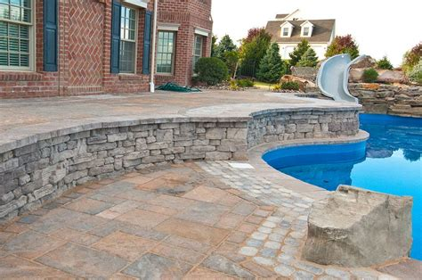 Swimming Pool Patio Designs Swimming Pool Patio Design Ideas And Supplies For Pa Md And De
