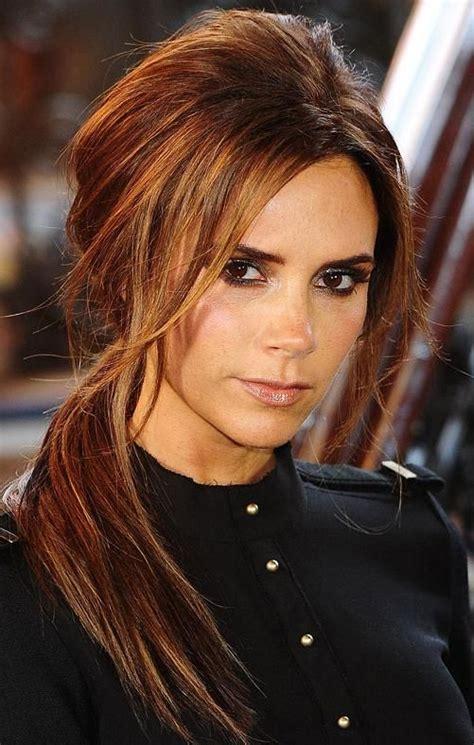 hairstyles auburn highlights love this dark auburn color with lighter highlights