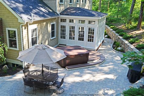 backyard solarium enclosures archadeck custom decks patios sunrooms and