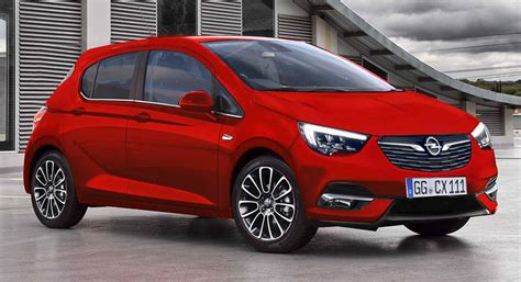 Opel Corsa 2019 Psa by New Opel Corsa Coming In 2019 With Psa Tech Carscoops