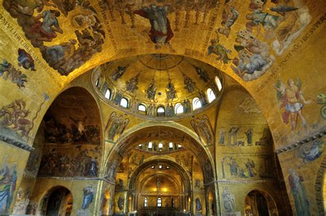 The Interior See by S Basilica Church In Venice Thousand Wonders