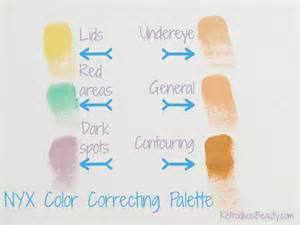 colored concealer guide 17 best images about nyx on nyx lip nyx
