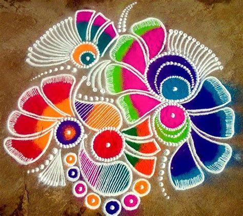 pattern of rangoli art diwali 2017 easy rangoli patterns and designs to enhance