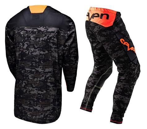 7 motocross gear seven new mx 2015 rival zero camo black stewart 7