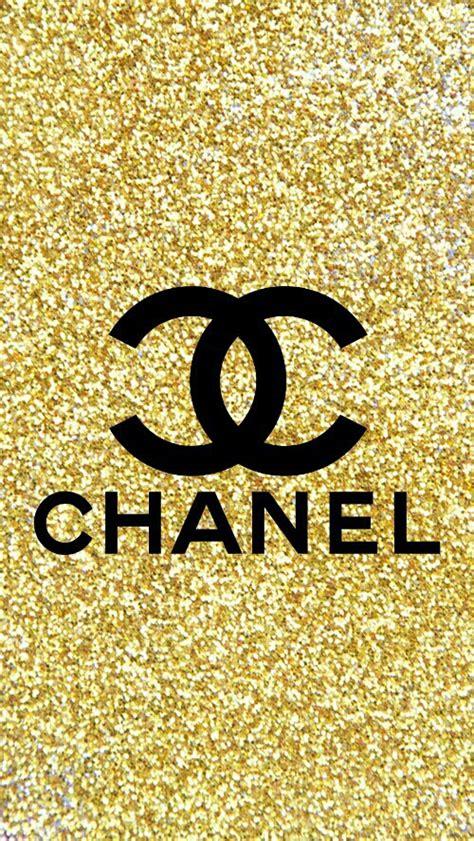 wallpaper chanel gold background chanel fondo glitter favim com 4804152 jpeg