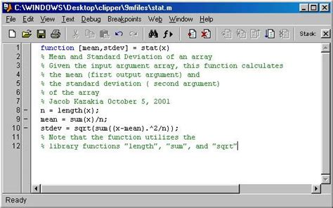 tutorialspoint matlab how to write a matlab function proofreadingwebsite web