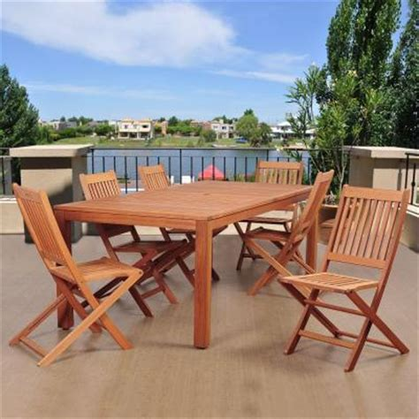Coronado Rectangular Dining Set By Home Styles Harbor 7 Oval Patio Dining Set With Taupe Cushions 5601 338 The Home Depot