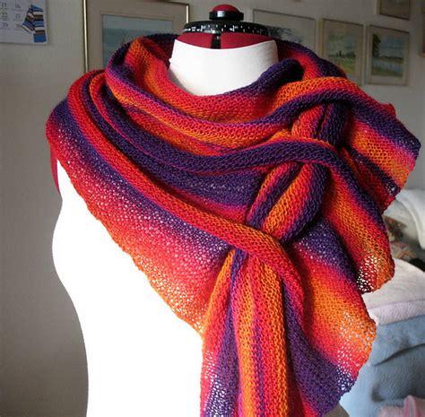 knitting pattern scarf with slot diy pfeilraupe knit scarf free pattern beesdiy com