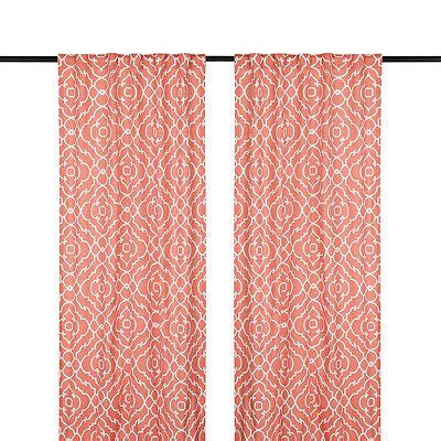 Coral Patterned Curtains Coral Patterned Curtains Bedroom Curtains Siopboston2010