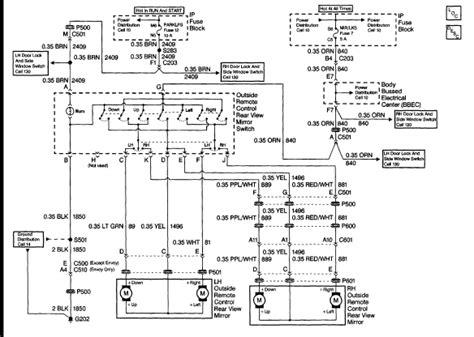 2001 chevy silverado mirror wiring diagram 2001 free