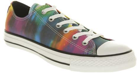 converse tie dye sneakers for lyst