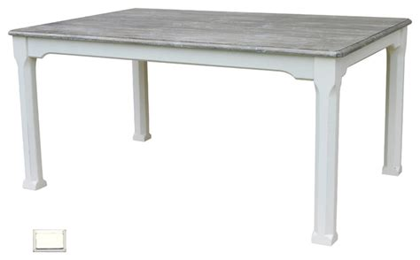coastal painted breakfast table white style