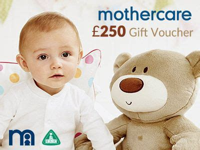 Gift Voucher Mothercare Early Learning Center Gingersnaps Www Mylocalmothercare Co Uk Enter The Mothercare And