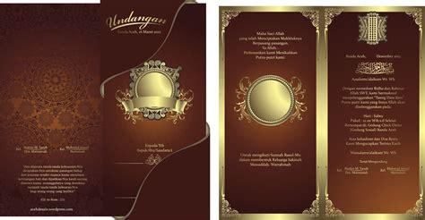 desain undangan pernikahan sederhana cdr 7 template undangan pernikahan keren format cdr gratis