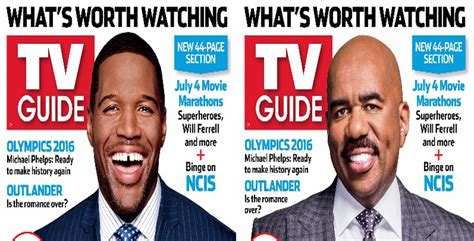 what kind of haircut does michael strahan have michael strahan steve harvey cover tv guide jetmag com