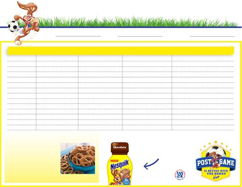 snack schedule template team snack schedule template for free formtemplate