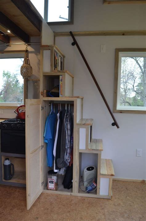 Staircase Ideas For Small House Best 25 Tiny House Stairs Ideas On Pinterest Small Space Stairs Ladder Like Stairs And Loft