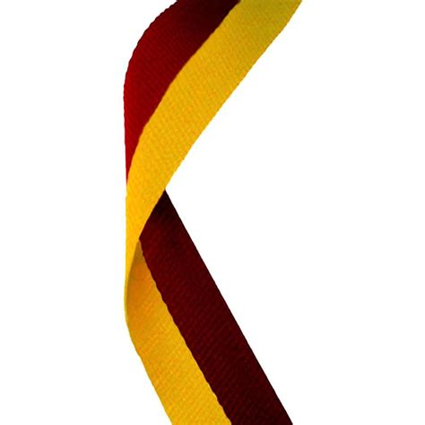 Maroon Ribbon mr47 medal ribbon maroon gold