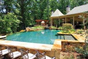 Outdoor Kitchen Designs With Pool Outdoor Kitchens With Pool