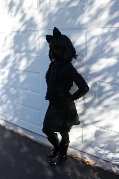 easiest halloween costume   shadow black morph