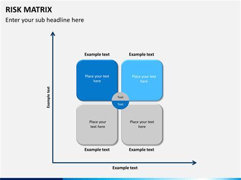 ppt templates for risk risk matrix powerpoint template sketchbubble