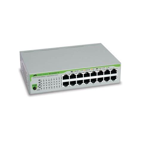 Harga Tp Link 16 Port Gigabit jual harga allied telesis switch 16 port gigabit 10 100