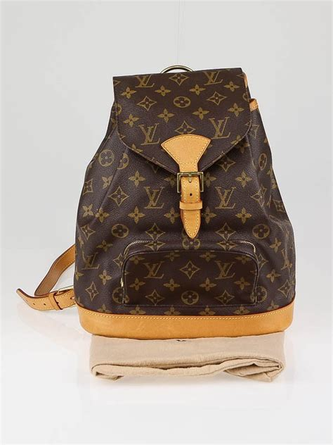 Tas Ransel Louis Vuitton Original Louis Vuitton Monogram Montsouris Mm Backpack Bag Yoogi