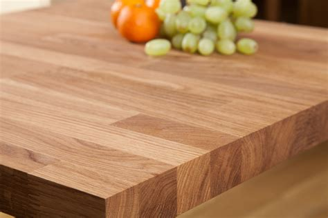 table top solid oak restaurant tabletop square 40mm