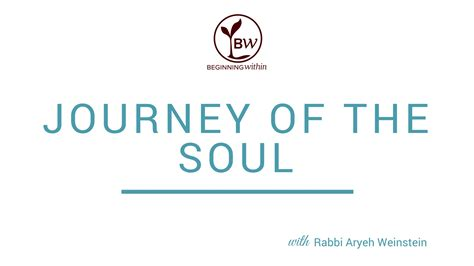 Journey Of The Soul journey of the soul cover beginning within
