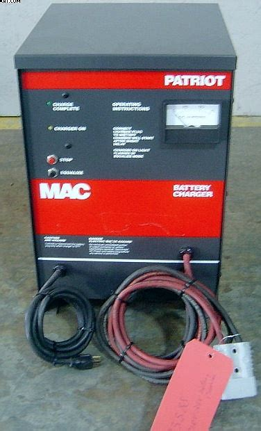 patriot battery charger mac battery charger patriot series 36 volt 1999 yr