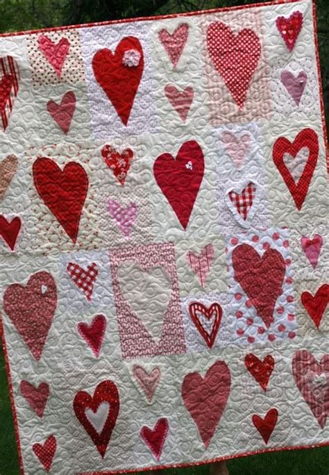 pattern for a heart quilt 17 best images about hearts valentine quilts on