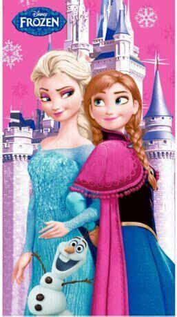 Handuk Frozen Jual Handuk Frozen Elsa Biru Dan Pink Chiara